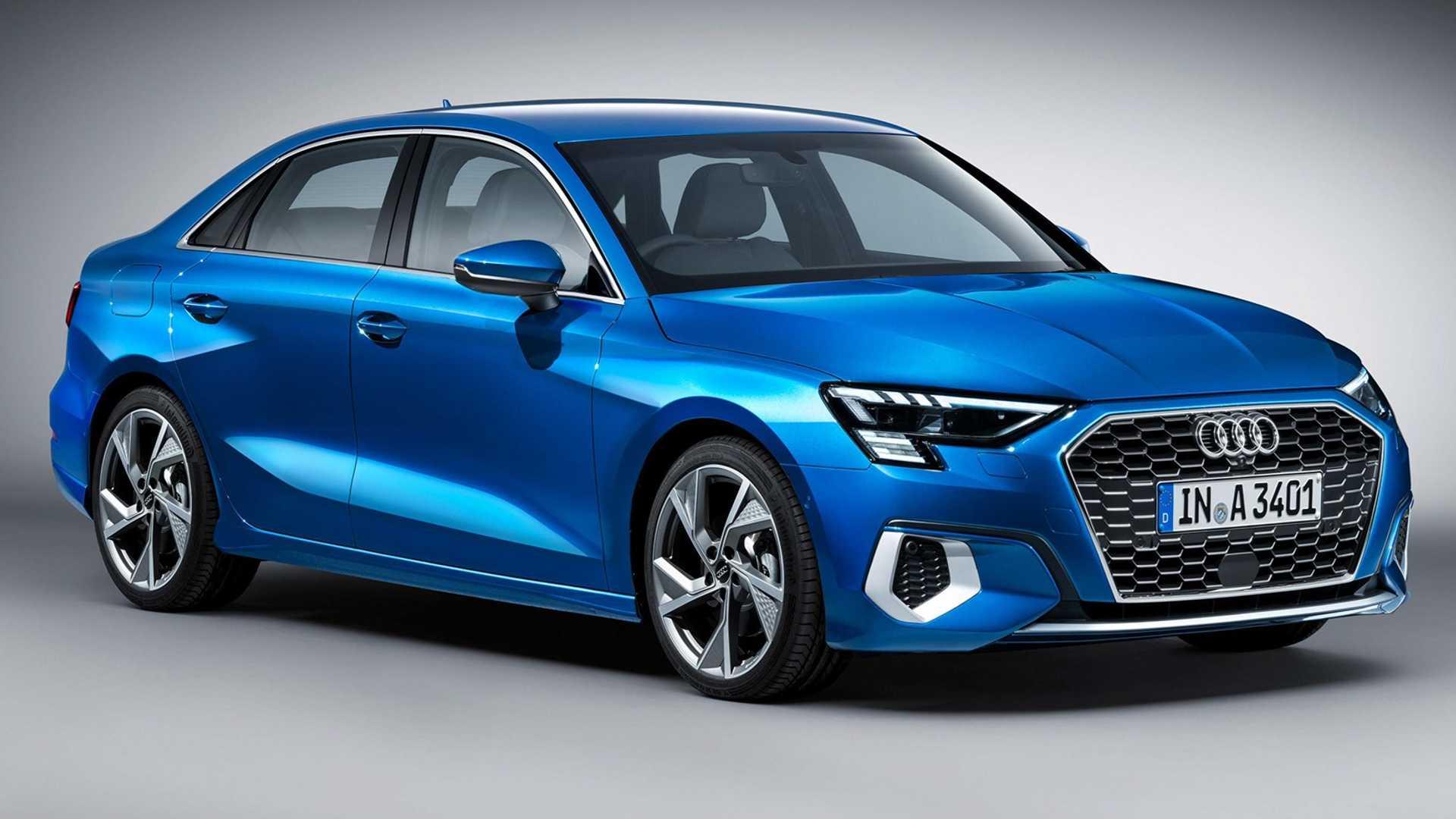 Audi A3 Limousine 2021 - rendering