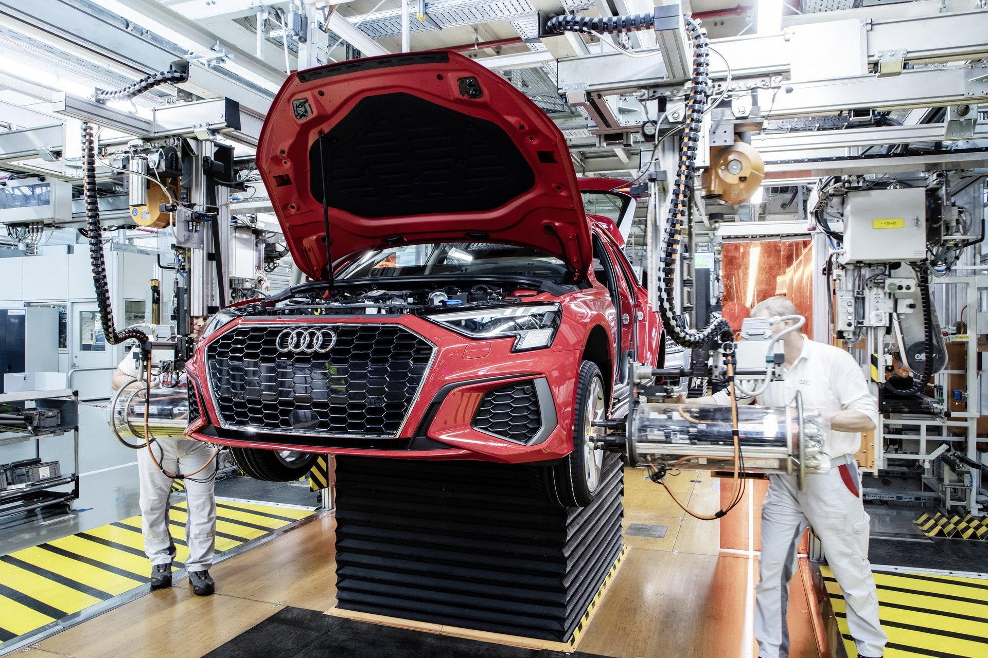 Audi A3 2020 - produkcja Ingolstadt