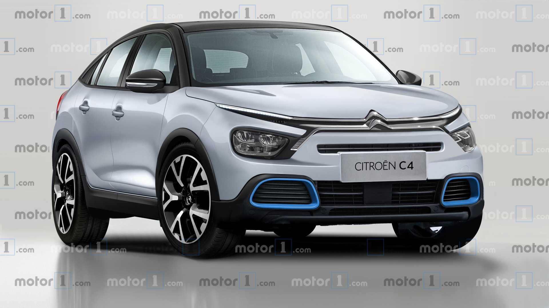 Citroen C4 2020 rendering - Motor1