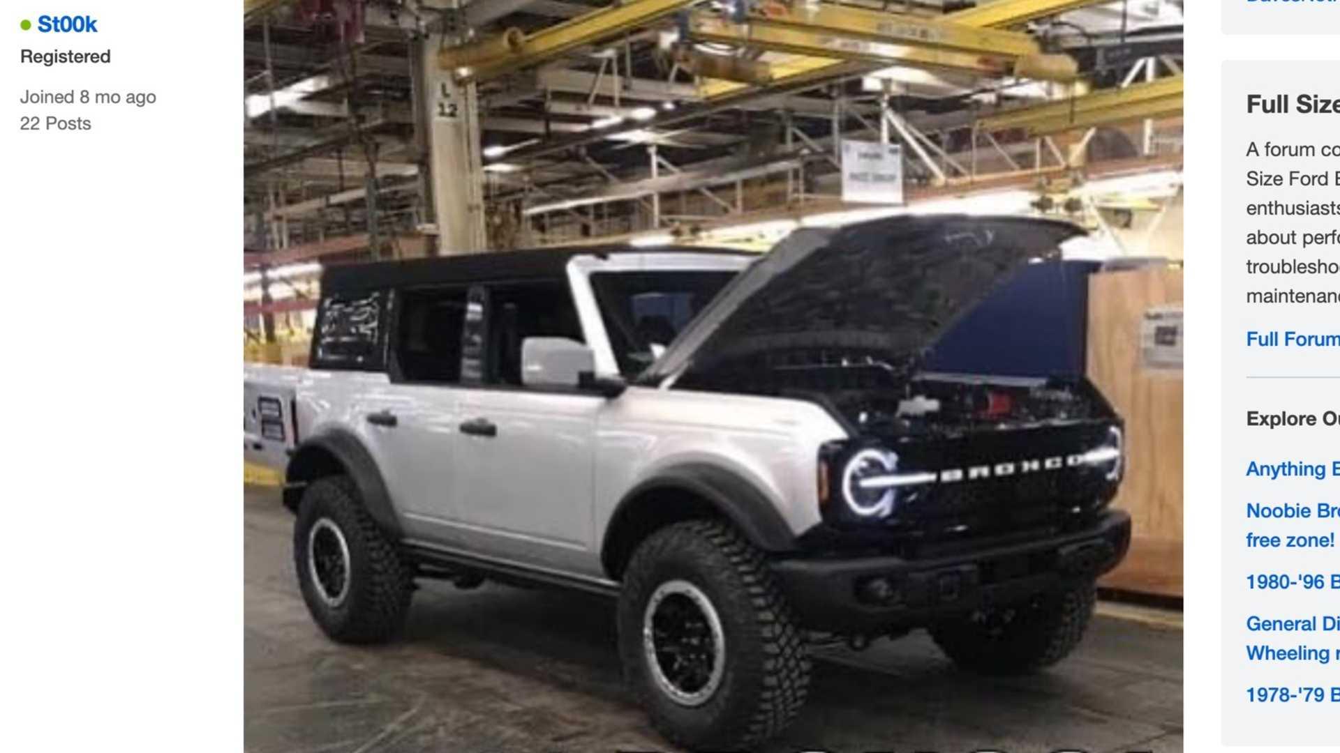 Ford Bronco 2021 – pierwsze zdjęcia