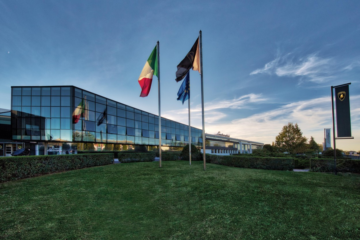 Sant'Agata Bolognese - fabryka Lamborghini
