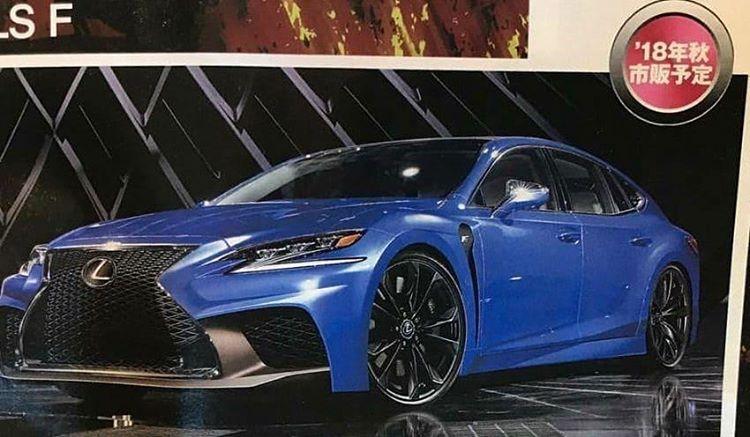 Lexus LS F 2022 - broszura