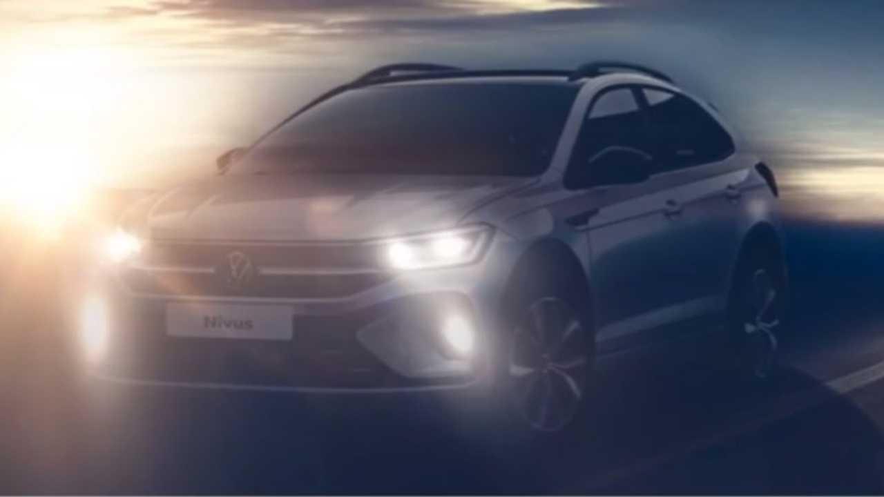 Volkswagen Nivus 2021 - teaser, fot: VW