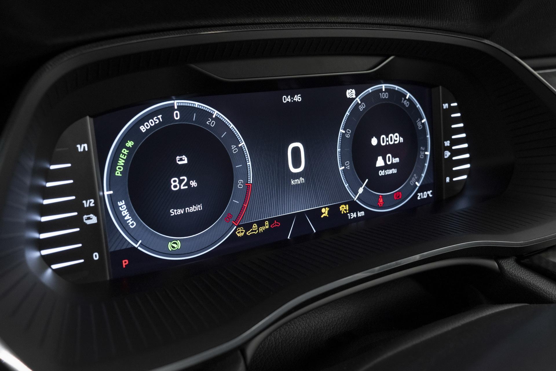 Skoda Octavia RS iV 2020 - wnętrze