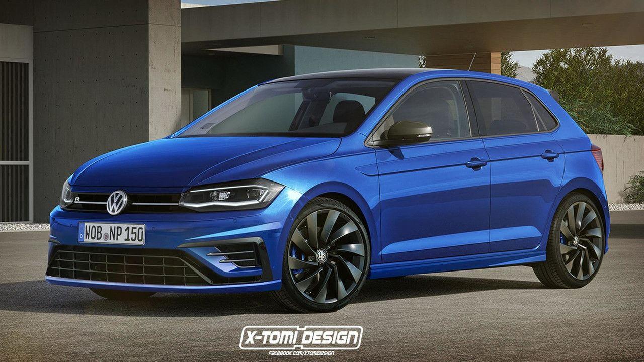 Volkswagen Polo R - rendering (X-Tomi Design)