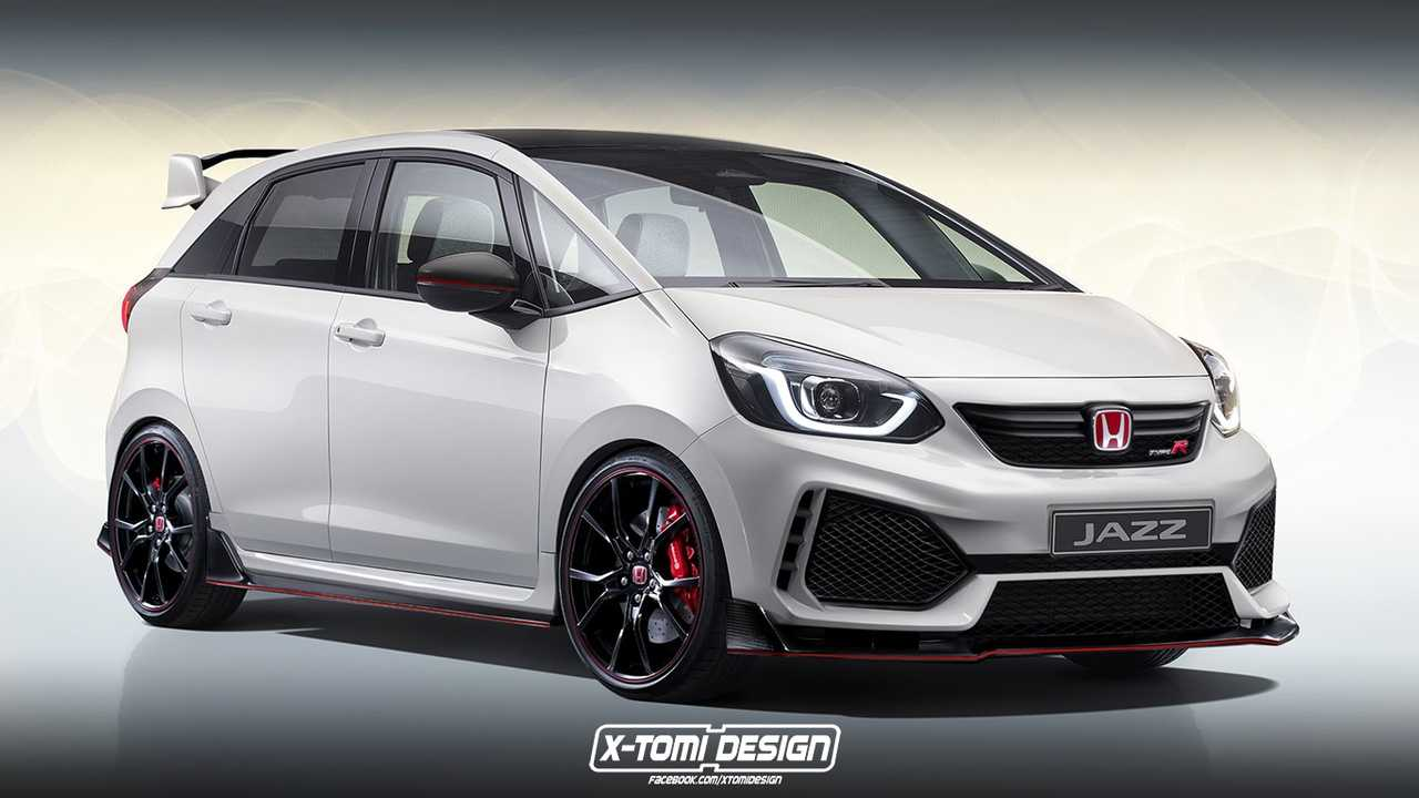 Honda Jazz Type R 2020 - rendering