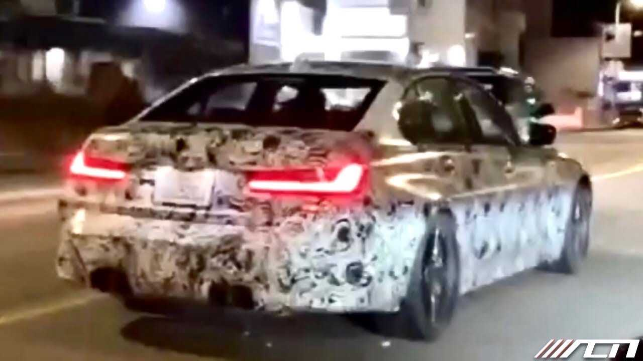 Nowe BMW M3 G80 - szpiegowskie