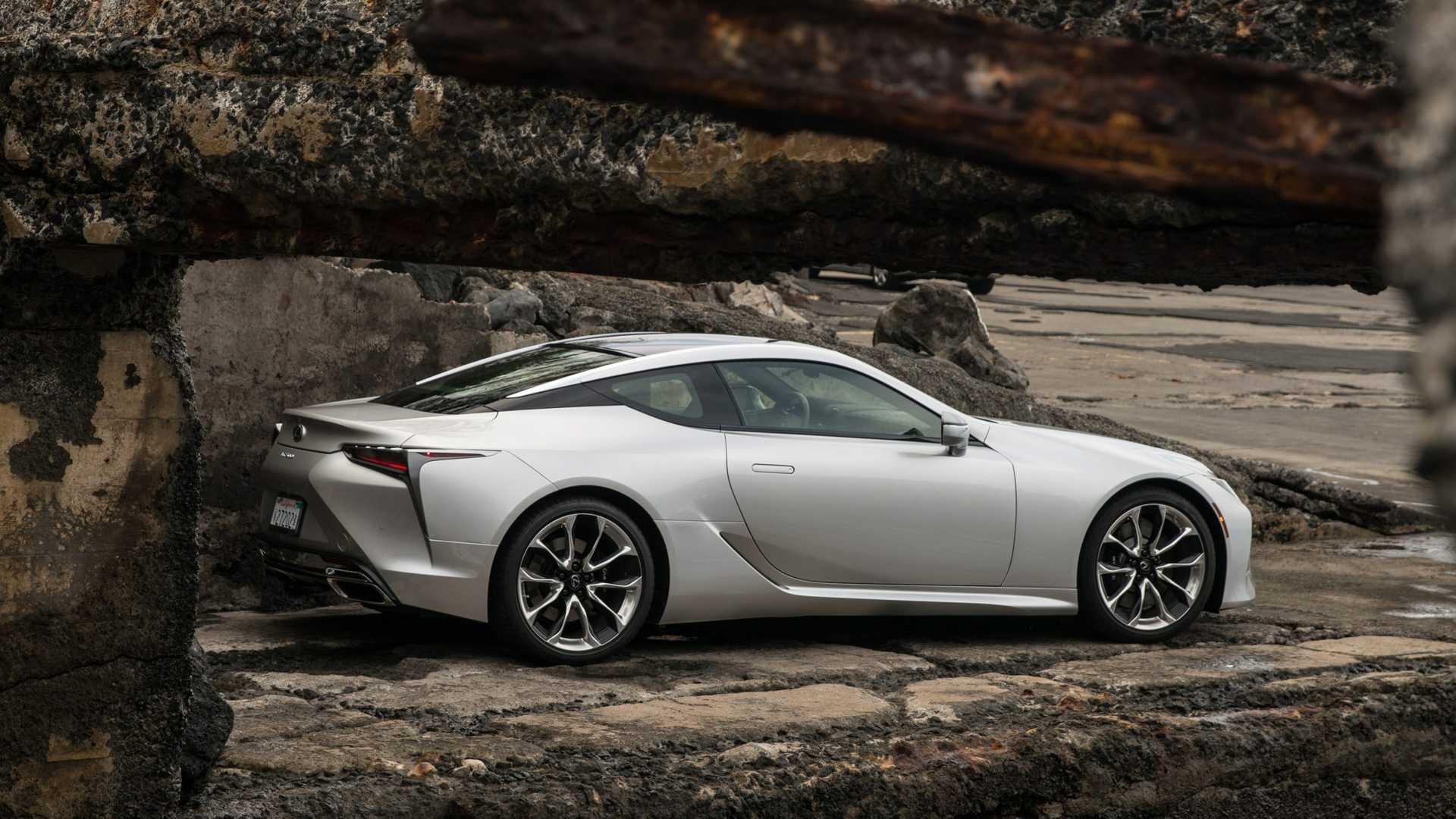 Lexus LC 2021 - lifting
