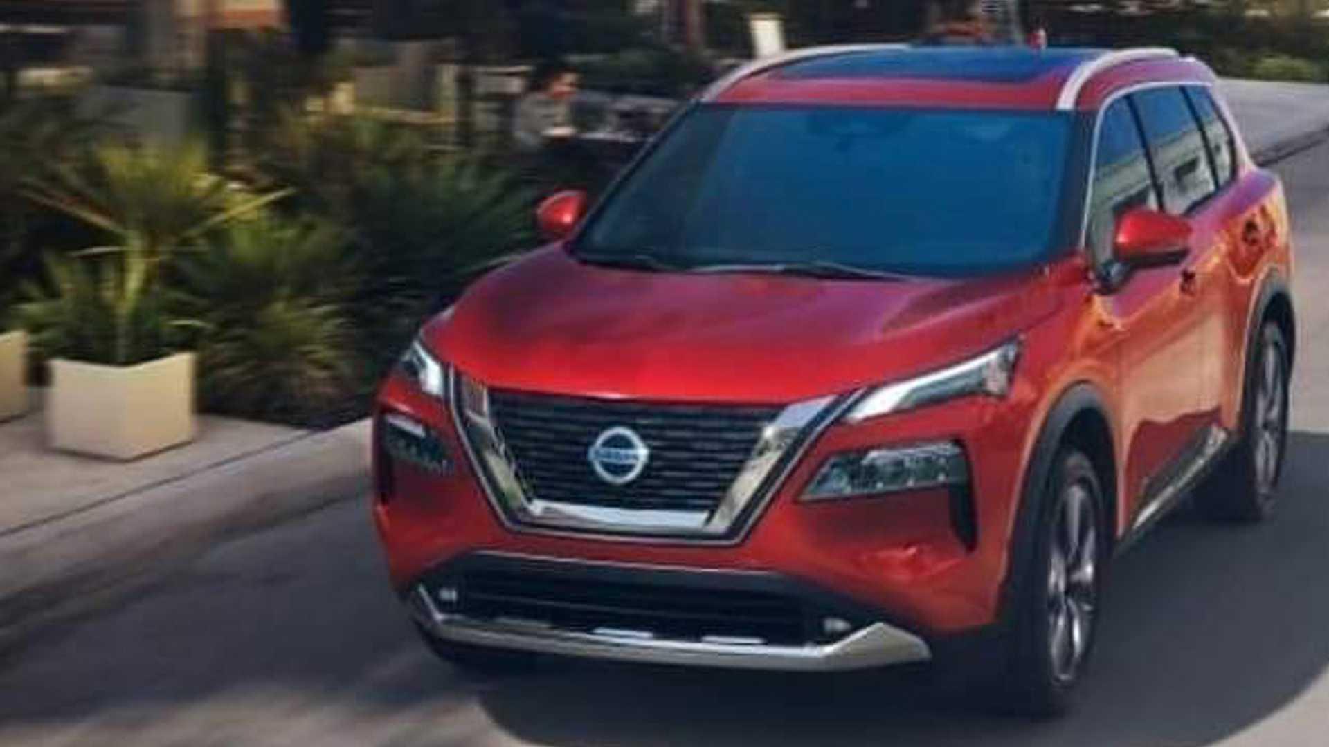Nissan X-Trail 2021 - wyciek