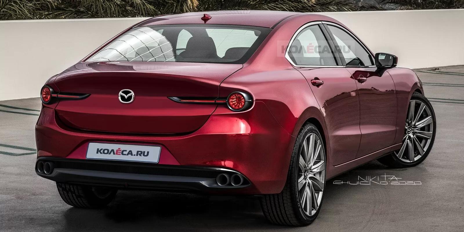 Tak może wyglądać nowa Mazda6 2023 | motofilm.pl