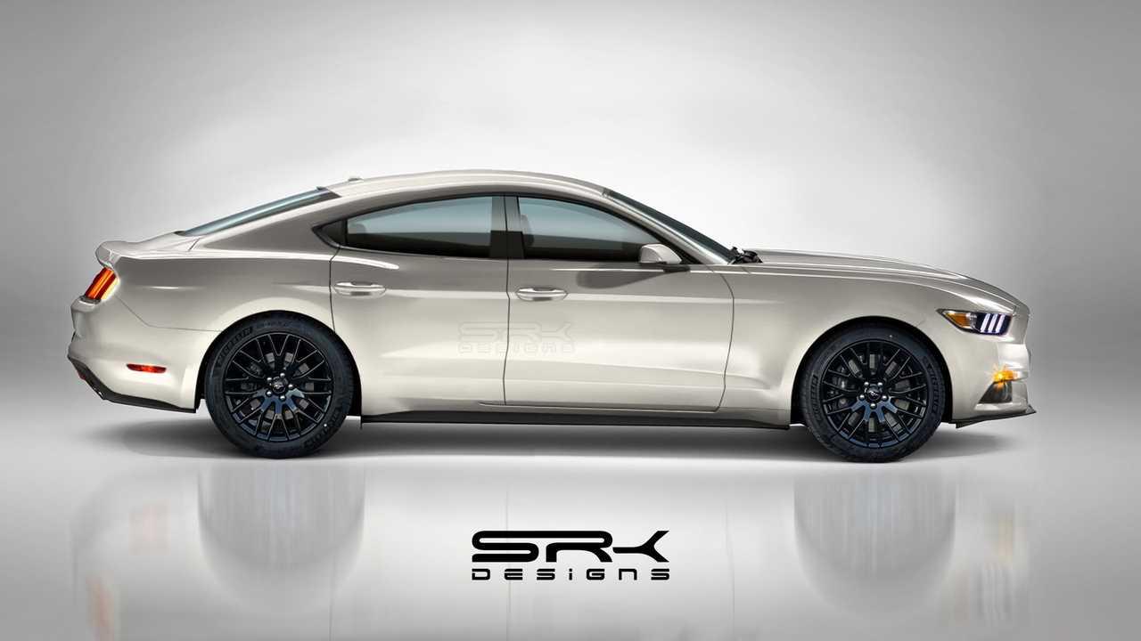 Czterodrzwiowy Ford Mustang