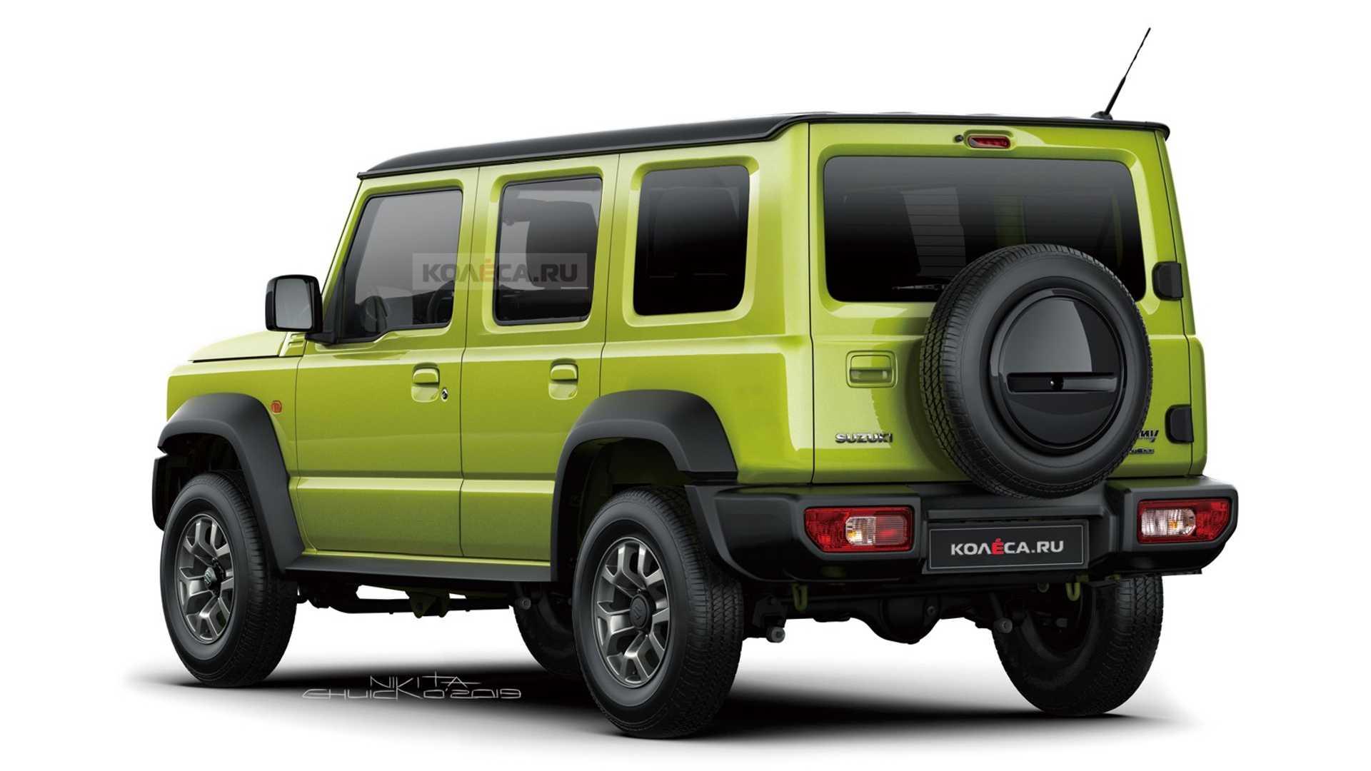 Pięciodrzwiowe Suzuki Jimny
