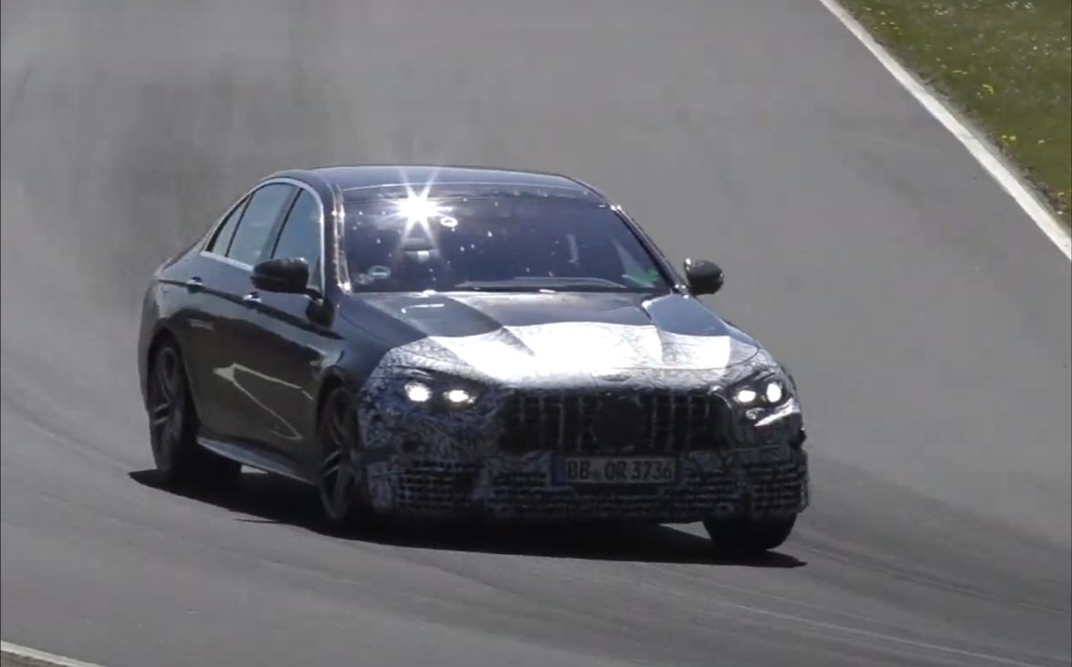 Nowy Mercedes-AMG E63 2021 - Nurburgring