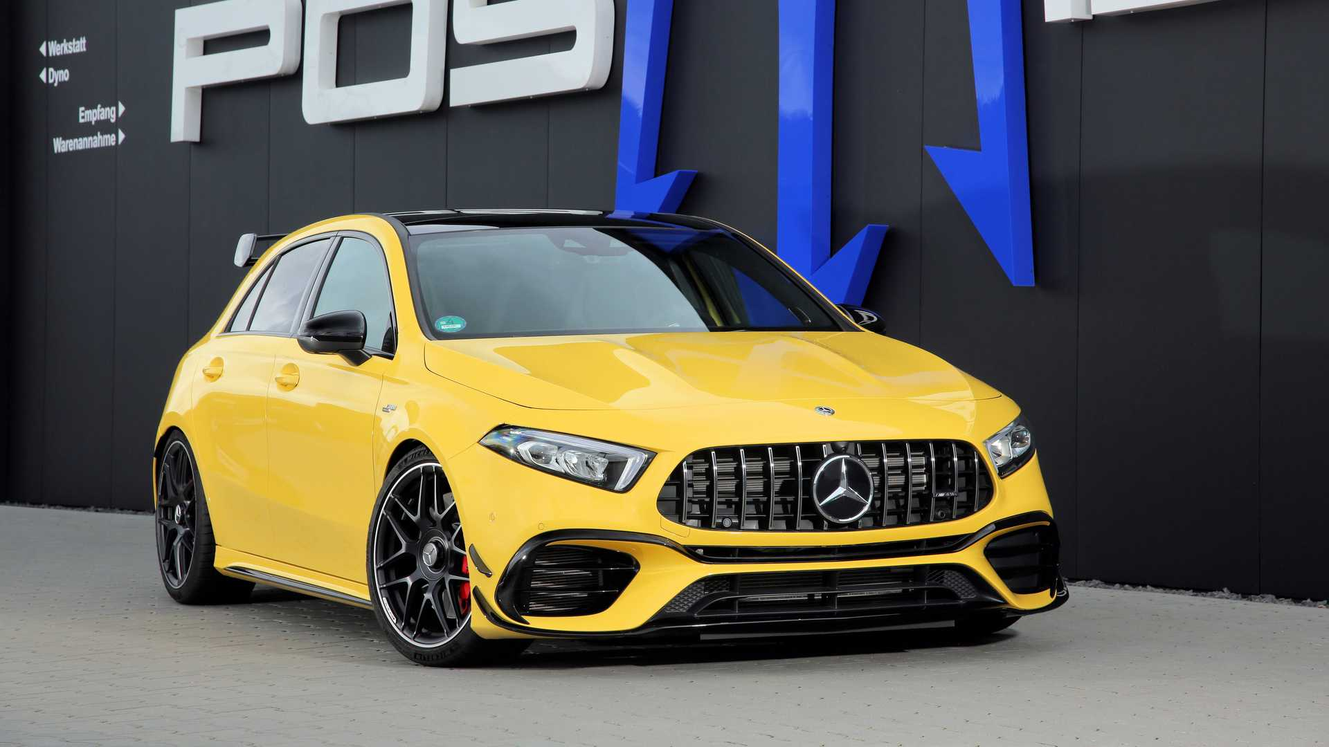 Mercedes-AMG A45 S 2020 Posaidon