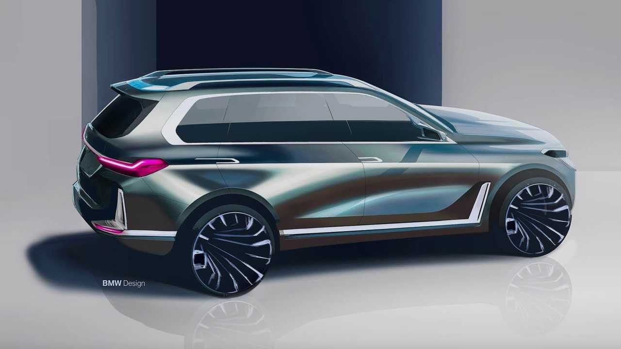 BMW Design - szkic X7