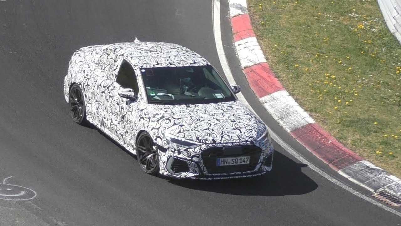 Audi RS3 Limousine 2021 - zdjęcie szpiegowskie