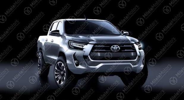 Toyota Hilux 2021 lifting - broszura