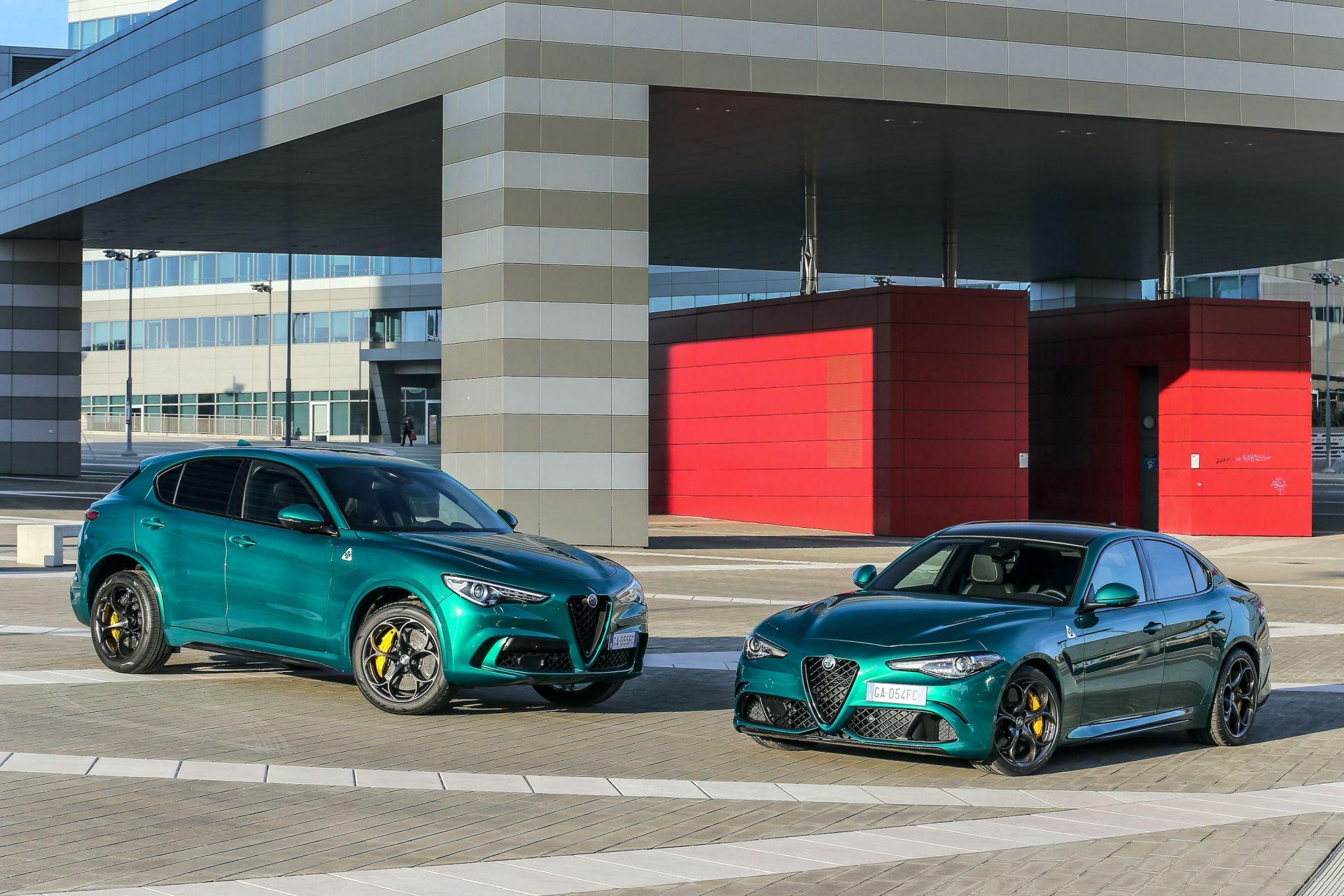 Alfa Romeo Giulia Quadrifoglio i Stelvio Quadrifoglio po liftingu 2020