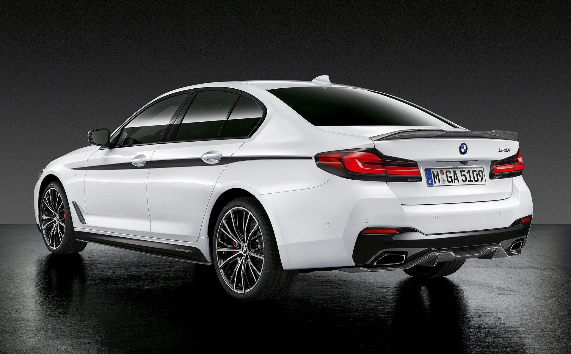 BMW serii 5 G30 2021 (lifting) M Performance