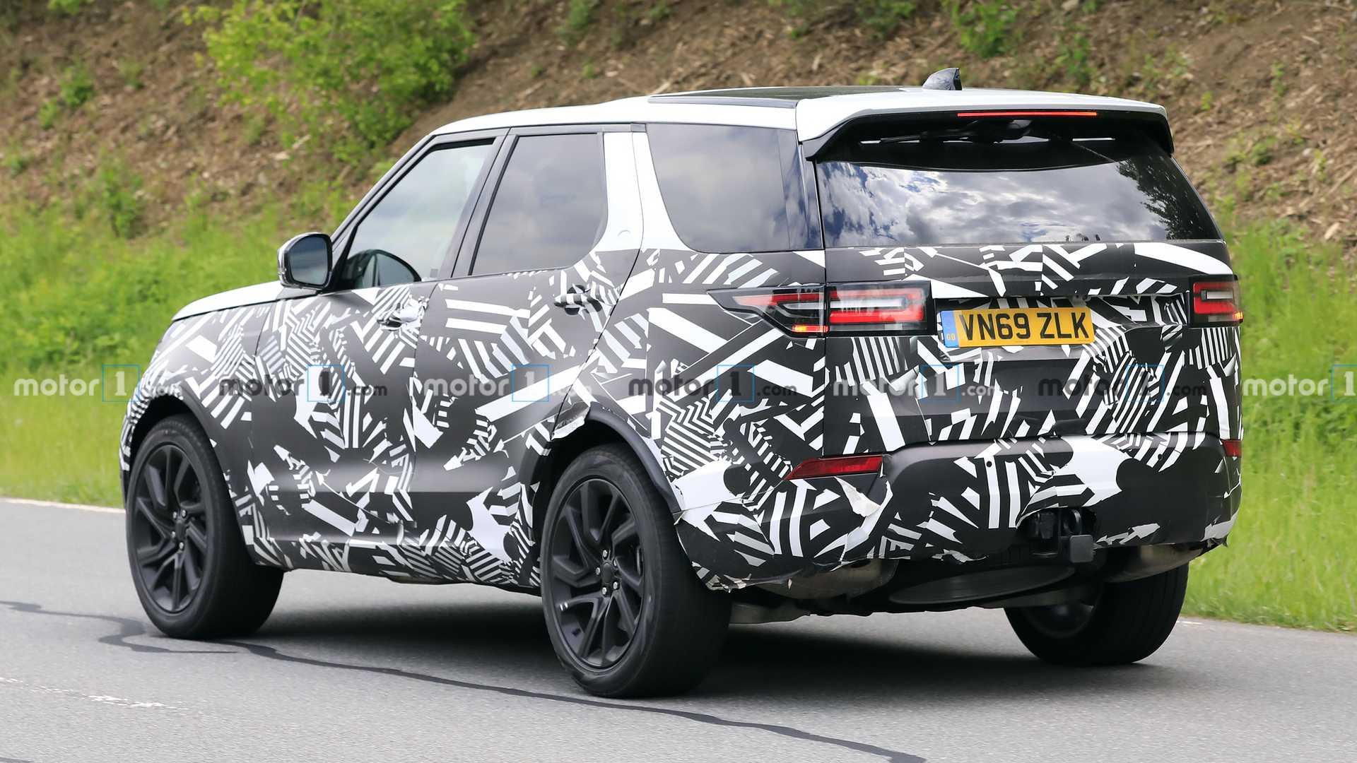Land Rover Discovery po liftingu (2021)