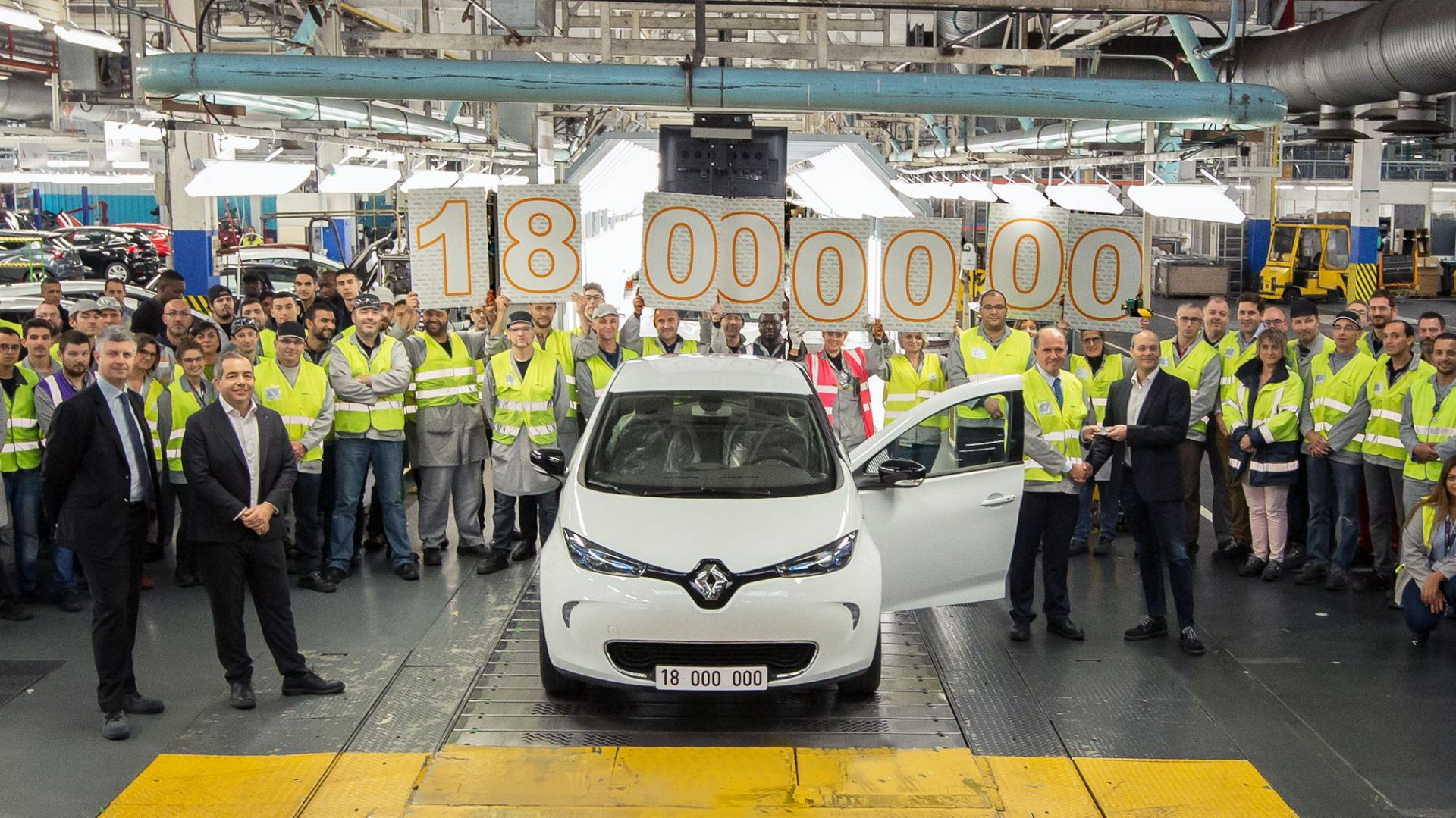 Fabryka Renault - pracownicy (ZOE)