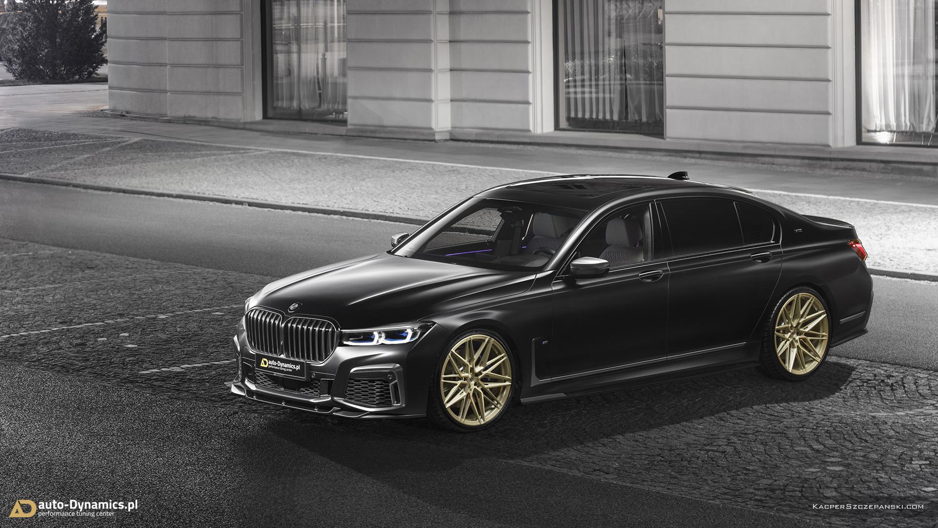 BMW M760Li – tuning Auto Dynamics