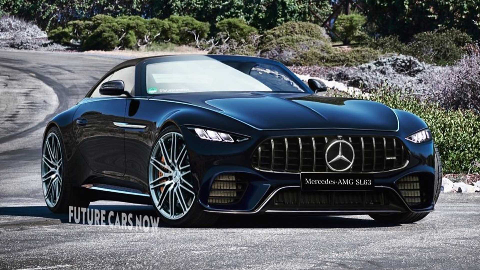 Mercedes-AMG SL63 2022 - rendering