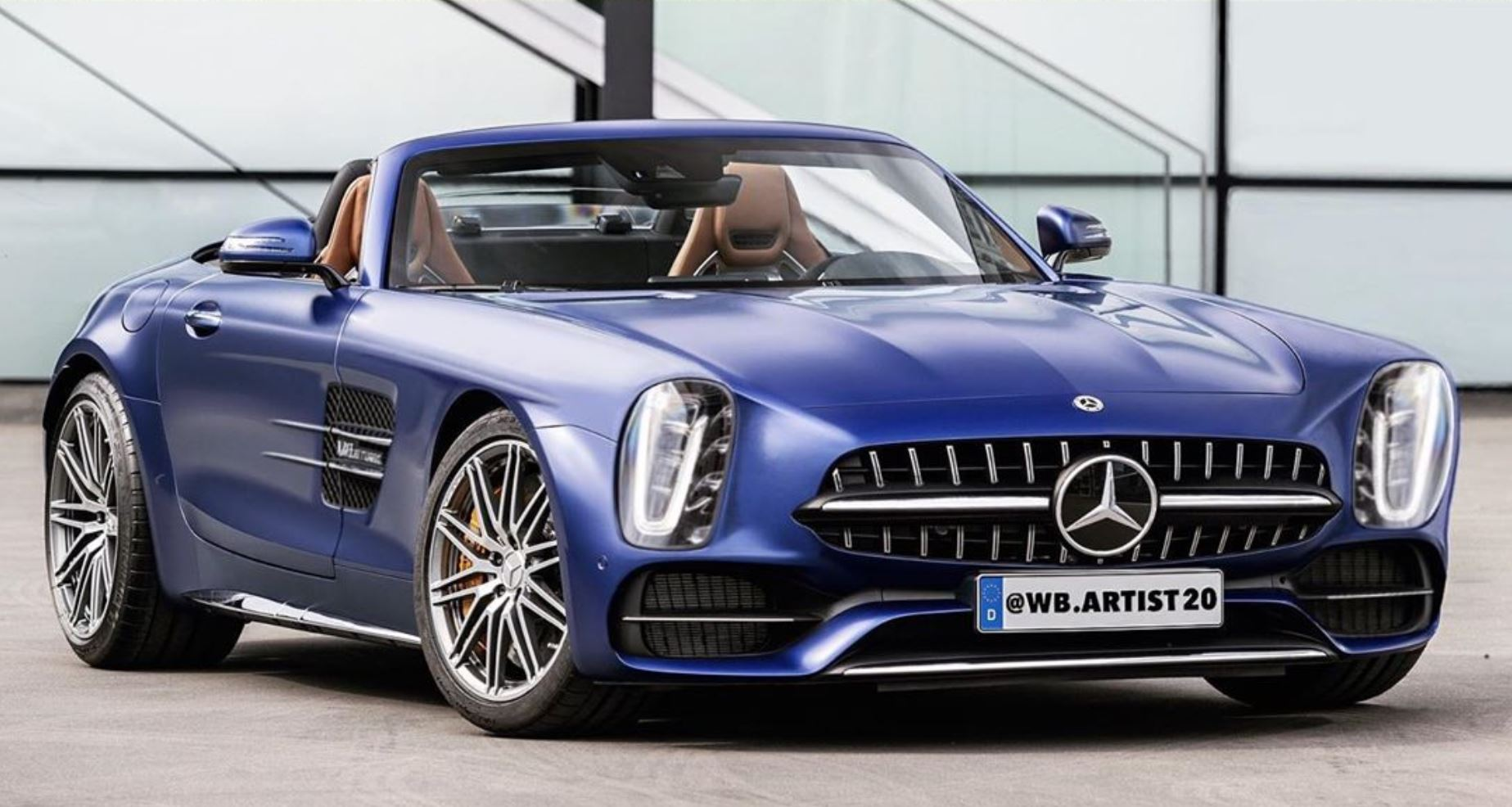 Mercedes-Benz 300 SL - rendering 2020