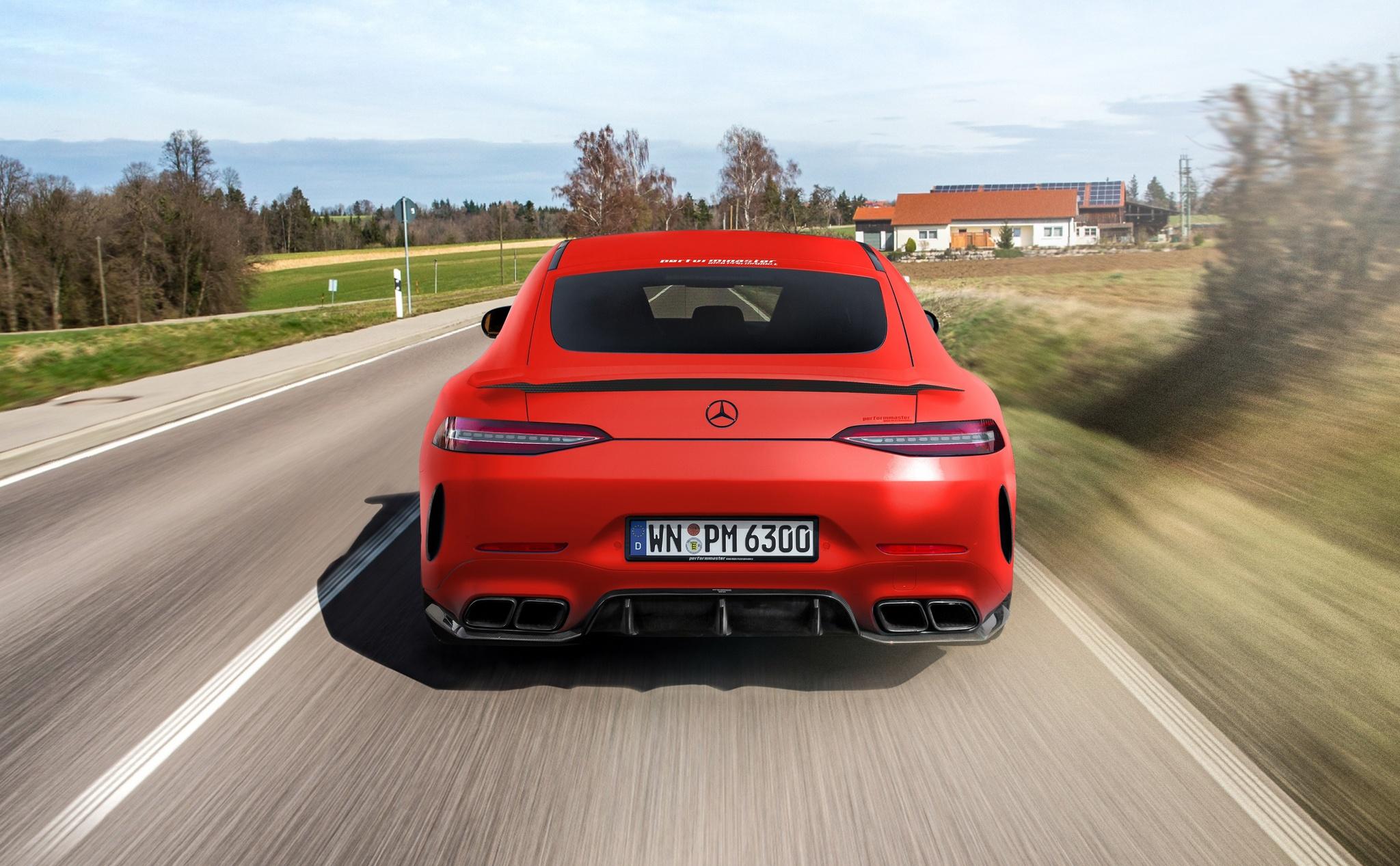 Mercedes-AMG GT 63 S 4-Door Coupe Performmaster
