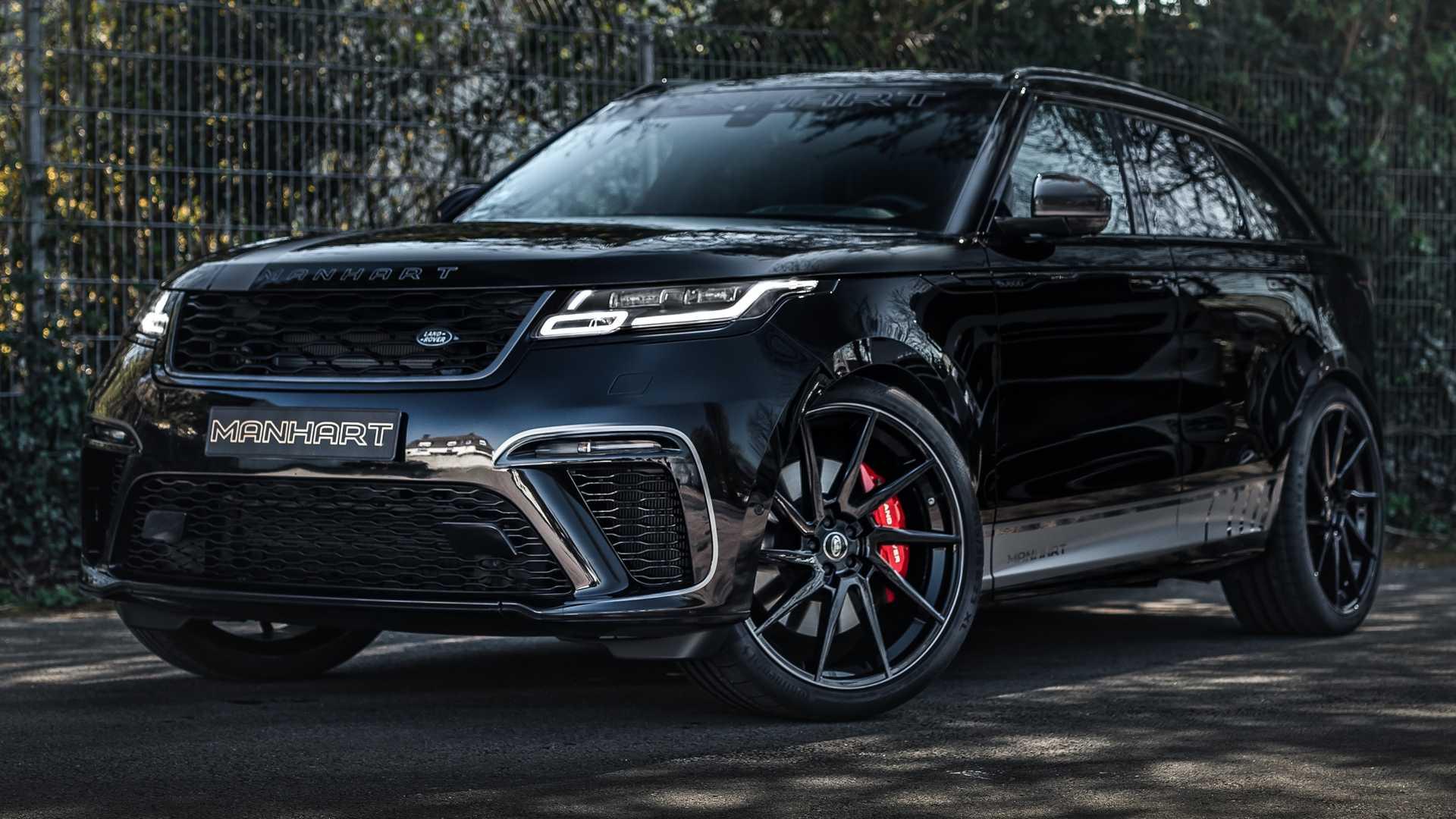 Range Rover Velar Manhart (tuning 2020)