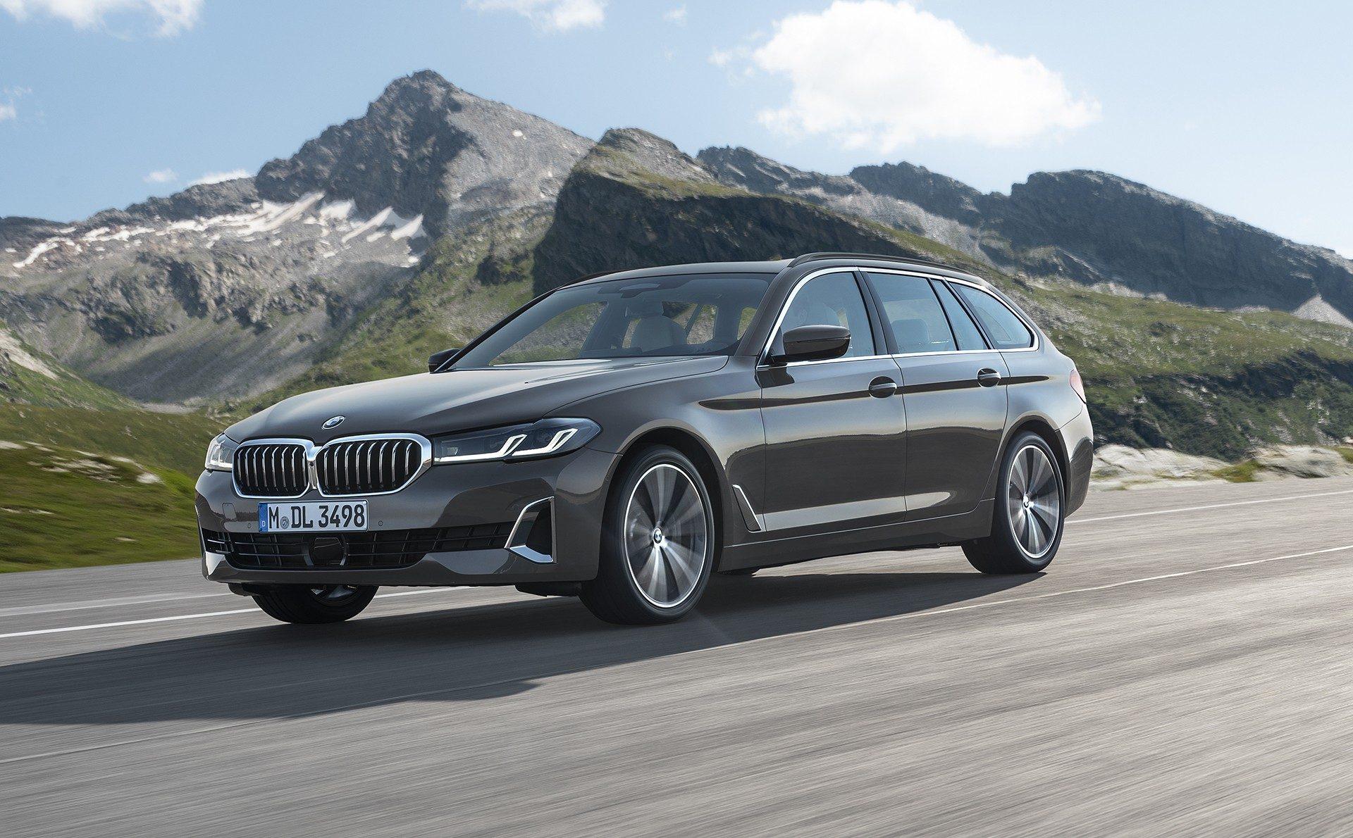 BMW serii 5 Touring G30 2021 (lifting)