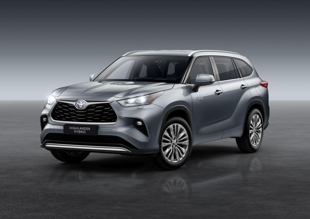Toyota Highlander 2020 – wersja europejska