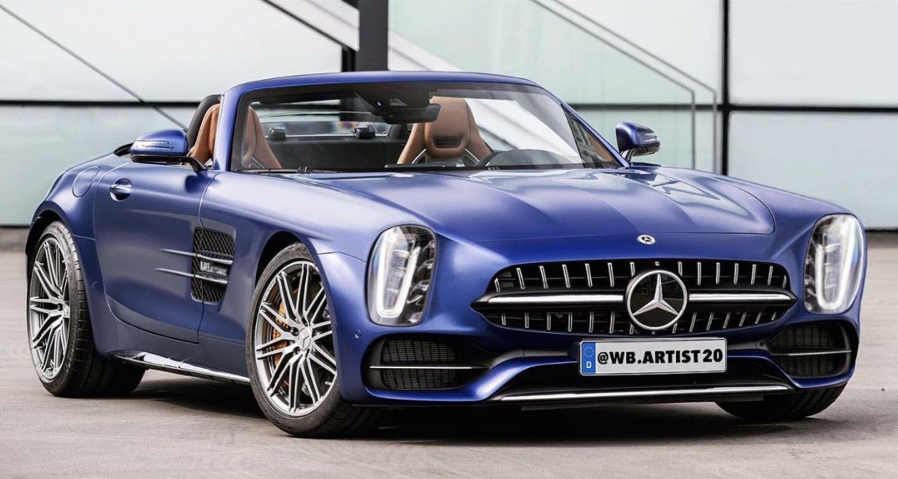Mercedes-Benz 300 SL - rendering 2020