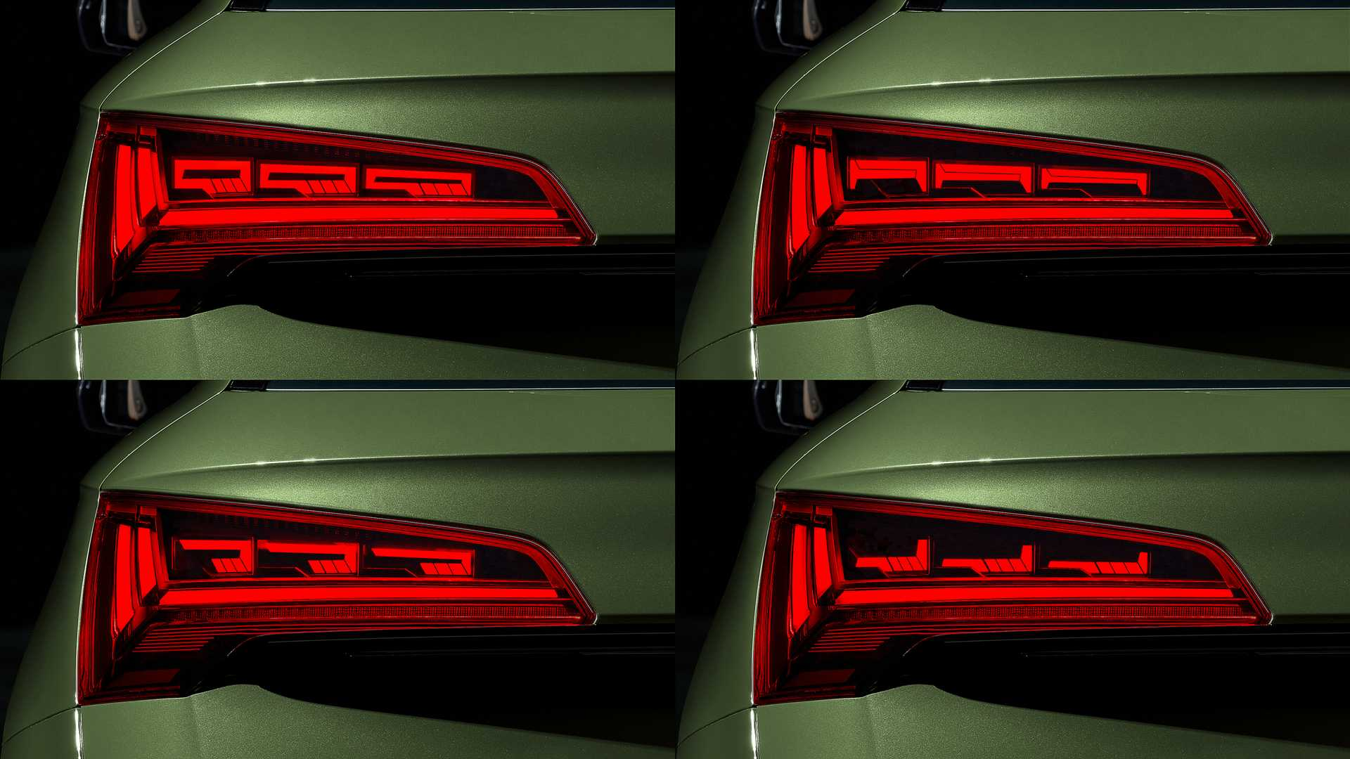 Audi Q5 2021 lifting OLED