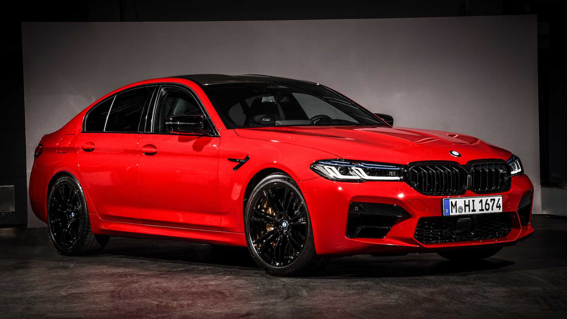 BMW M5 Competition (2021)