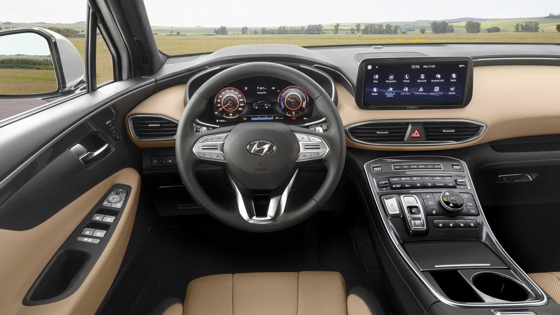 Hyundai Santa Fe (2021) lifting