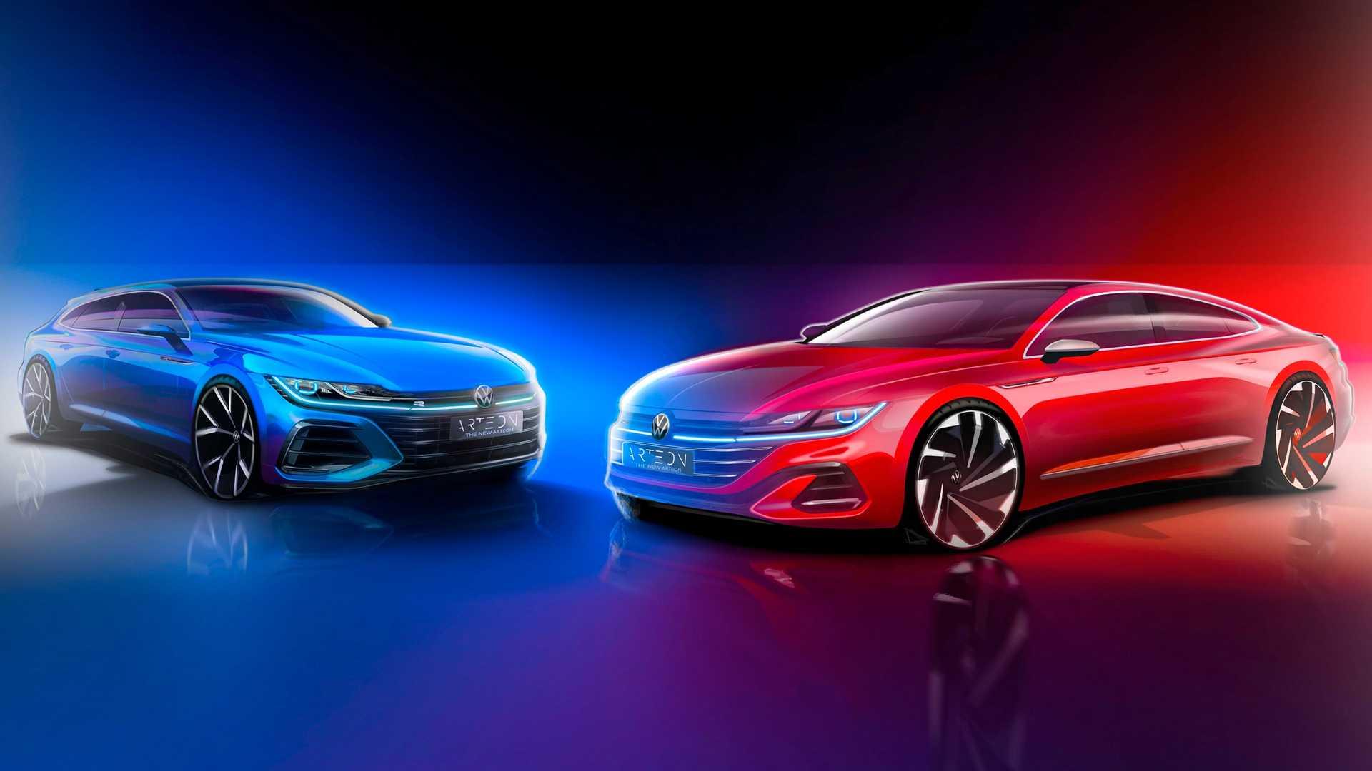 Nowy Volkswagen Arteon (2021) - teaser