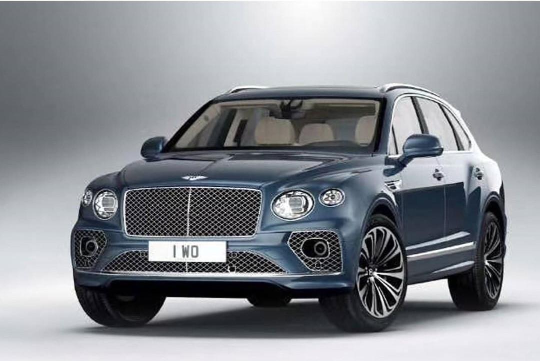Bentley Bentayga 2021 po liftingu - wyciek zdjęć