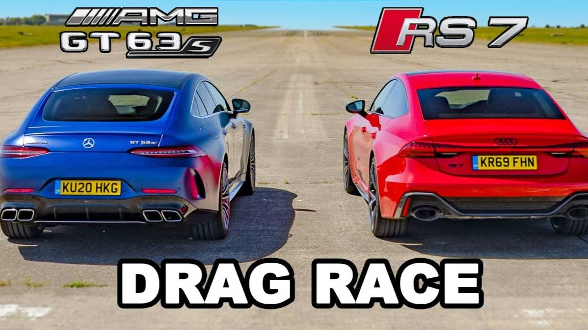 Mercedes-AMG GT63 S vs. Audi RS7