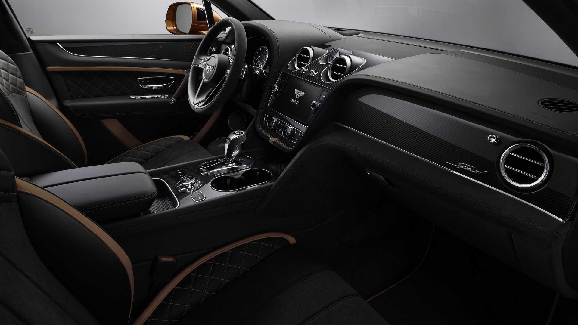 Bentley Bentayga Speed (W12)