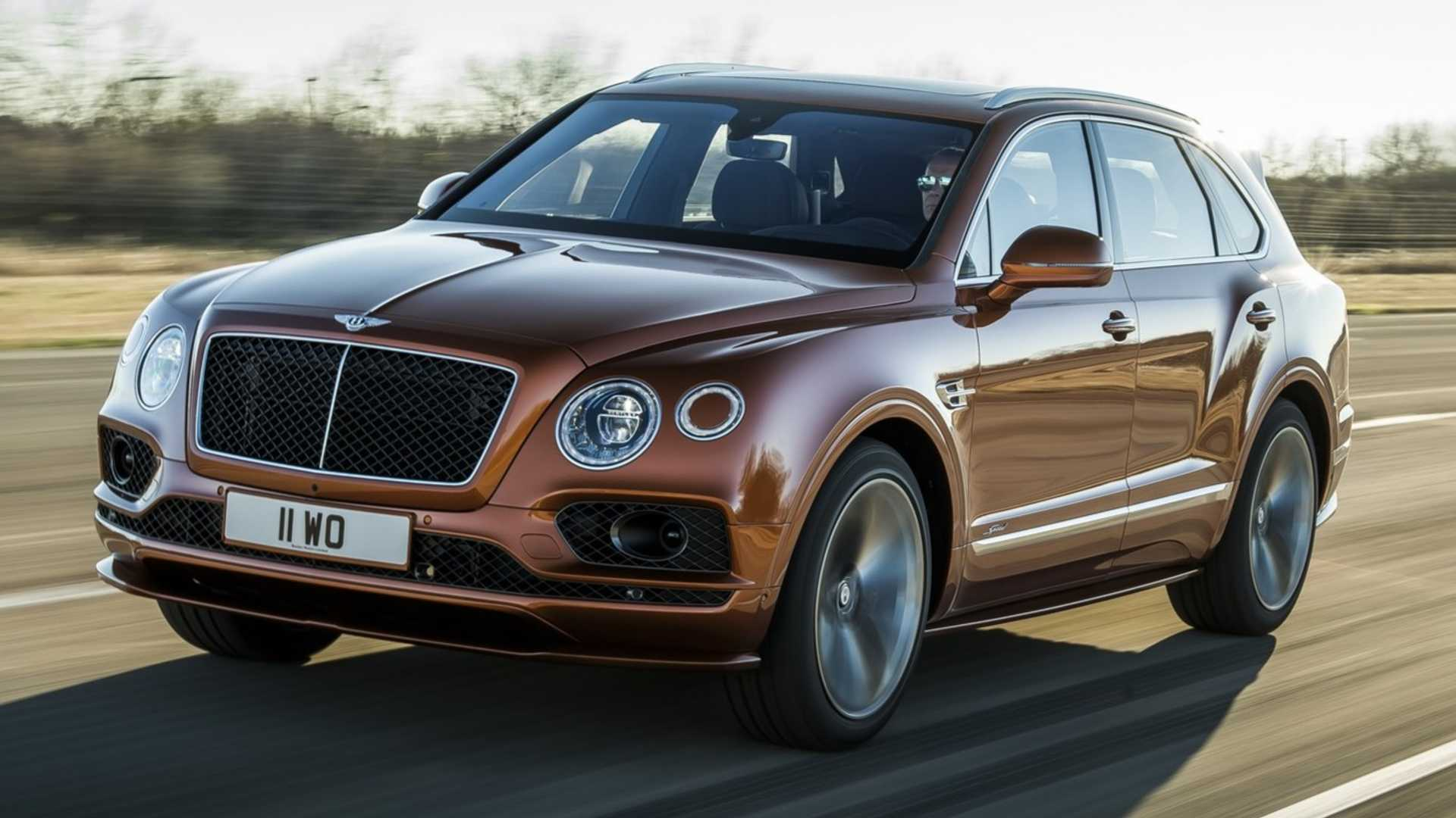 Bentley Bentayga Speed (W12)