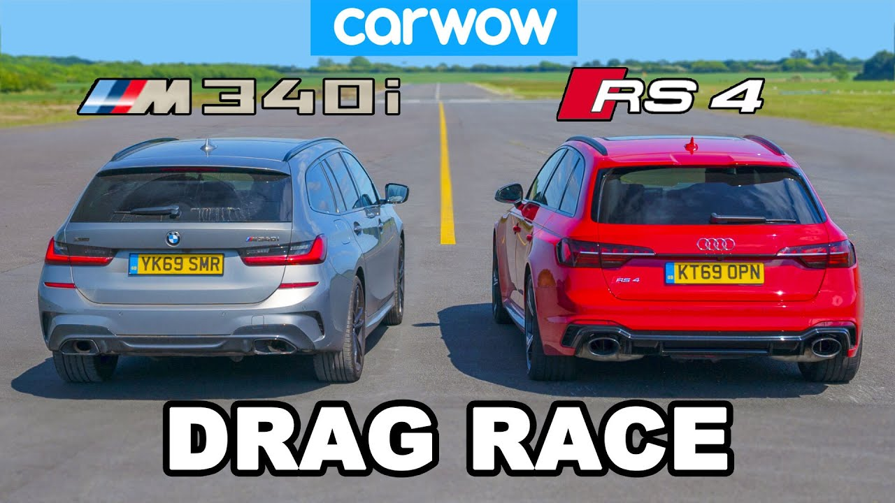 BMW M340i Touring vs. Audi RS4 Avant
