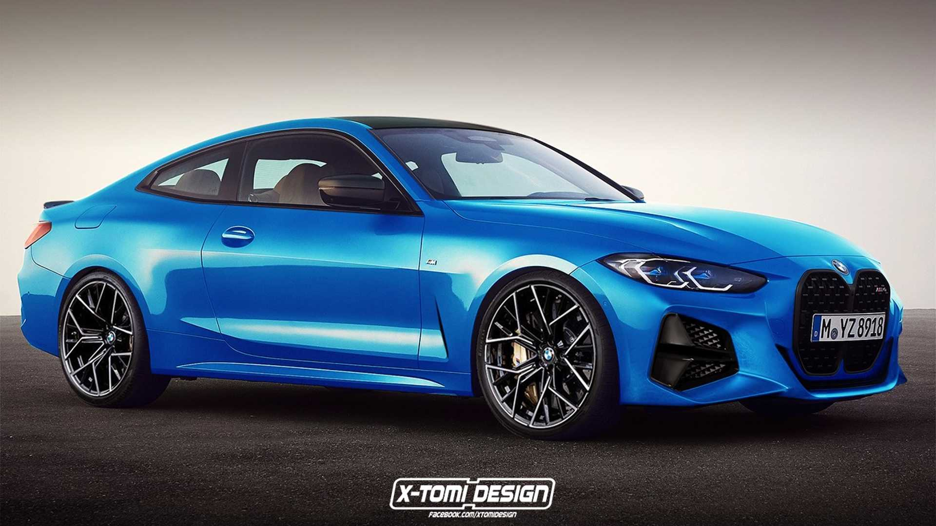 BMW M4 (G22) - rendering X-Tomi Design