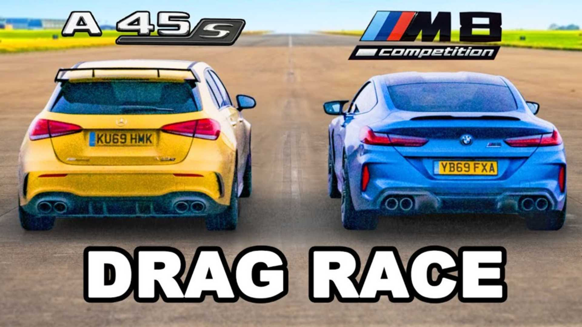 Mercedes-AMG A45 S vs. BMW M8 Competition