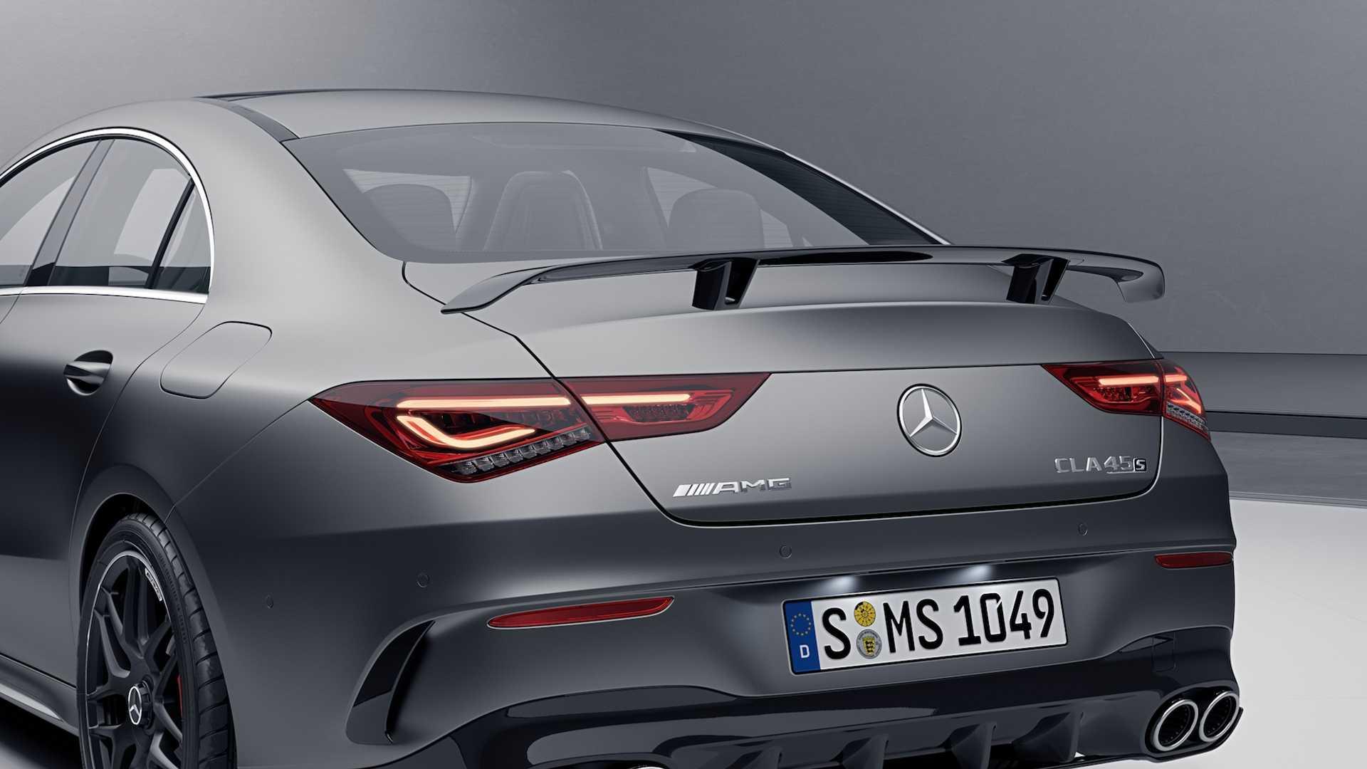 Mercedes-AMG CLA 45 S - pakiet aerodynamiczny AMG Plus