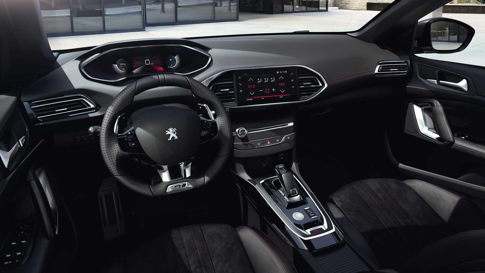 Peugeot 308 (2021) lifting (i-Cocpit)