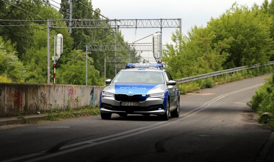 Policyjna Skoda Superb Combi, fot: Polska Policja
