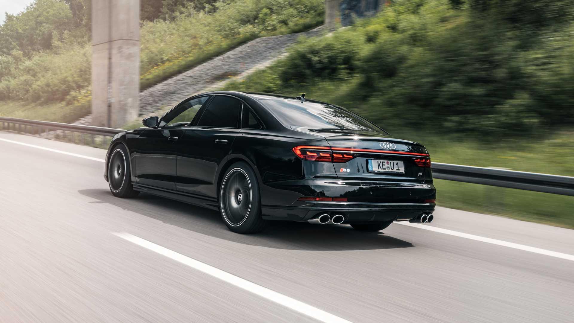 Audi S8 po tuningu ABT (2020)