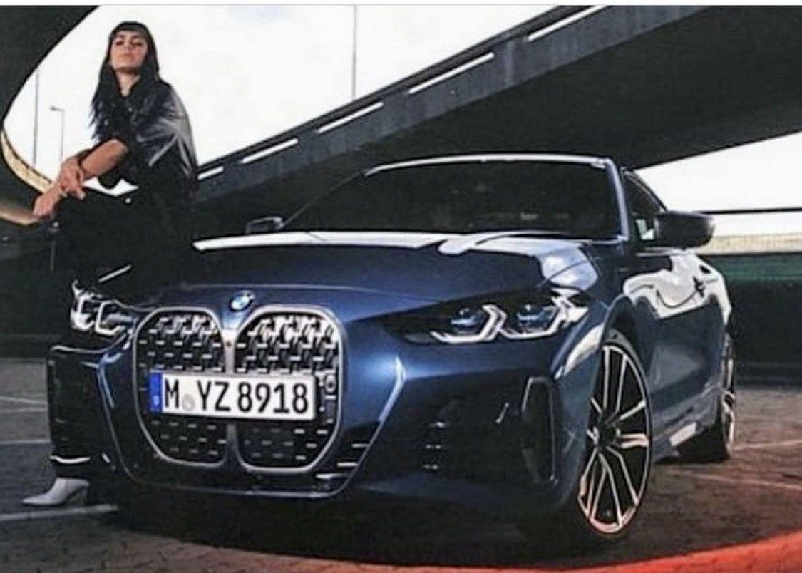 Nowe BMW serii 4 Coupe 2021: zdjęcia z broszury