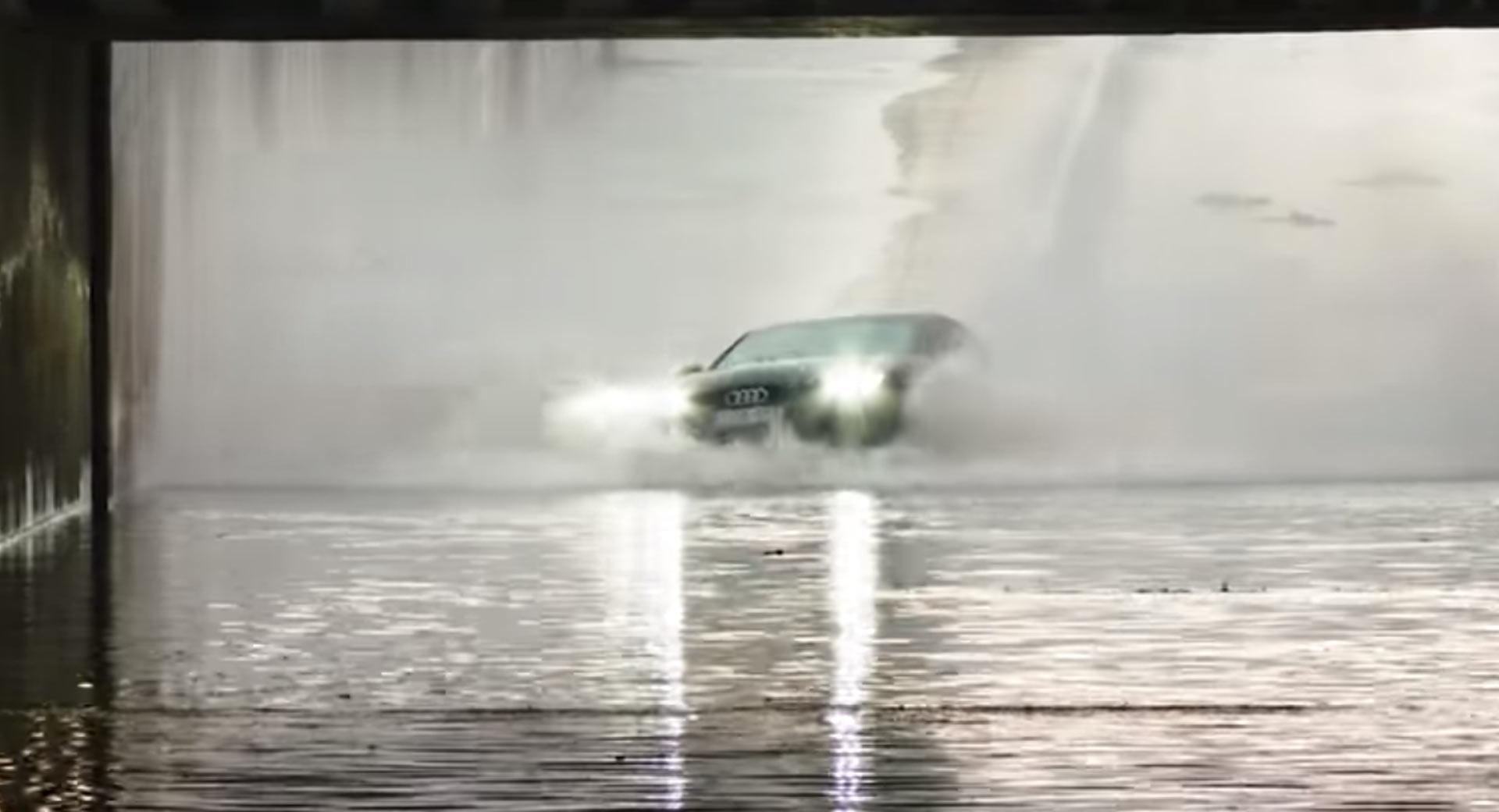 Audi A7 quattro - po powodzi (zalane)